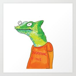 Everything Fine Art Print