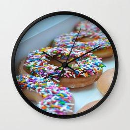 Krispy Kreme Donuts Wall Clock