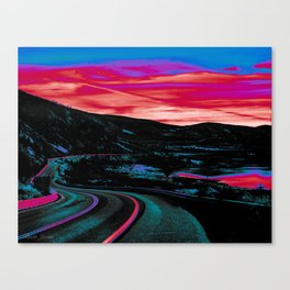 NEON NIGHTS Canvas Print