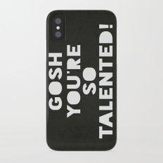 Gosh (Talented!) iPhone X Slim Case