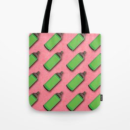 Spraycan pattern Tote Bag