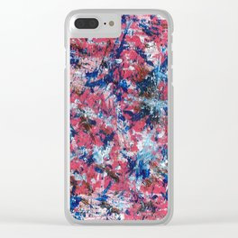 Emotions in Color Clear iPhone Case