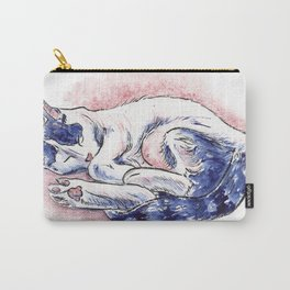 Sleeping Daphne Carry-All Pouch