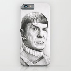 Spock Leonard Nimoy Portrait iPhone 6s Slim Case