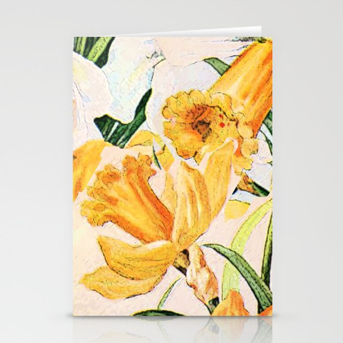 Wordsworth  and the daffodils. Stationery Cards