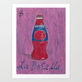 L.A. Loteria La Botella Art Print