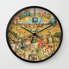 Bosch Garden Of Earthly Delights Wall Clock