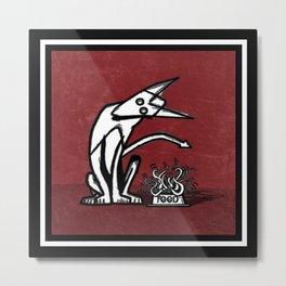 Ghost Dog & FOOD Metal Print