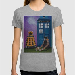 The Doctor and the Dalek T-shirt