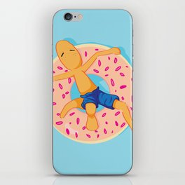 Donut chilling iPhone Skin