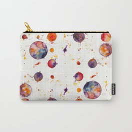 watercolor bubbles Carry-All Pouch