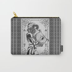 Legend of Zelda Shiek Princess Zelda Geek Line Art Carry-All Pouch