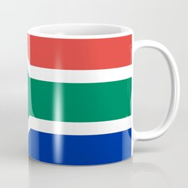Flag of South Africa, Authentic color & scale Coffee Mug
