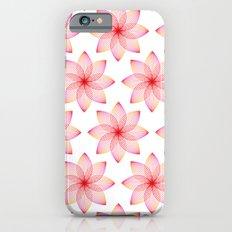 Gradient Strings Blossoms Slim Case iPhone 6s