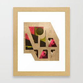 Edgware Flyover Framed Art Print