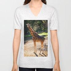 Baringo Giraffe Unisex V-Neck