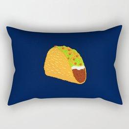 Pixel Taco Rectangular Pillow