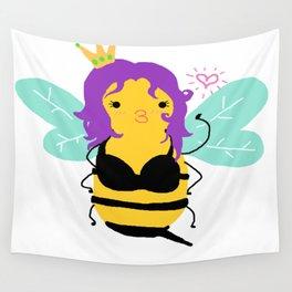 Princess Bee Wall Tapestry