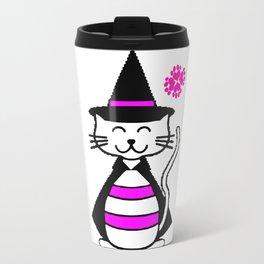 Magic cat and Folklore Travel Mug