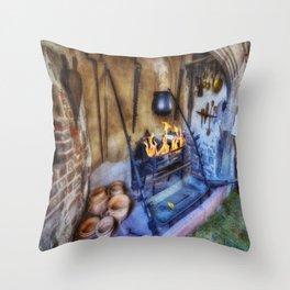 Olde Kitchen Throw Pillow