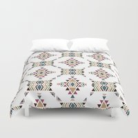 navajo Duvet Covers featuring Navajo  by CrystalFairy