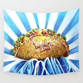 Taco Love Forever Wall Tapestry