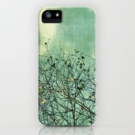 Green Nature vintage iPhone Case
