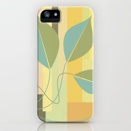 Leaves in color iPhone Case