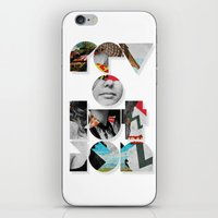 revolution iPhone & iPod Skins featuring revolution by Ali GULEC