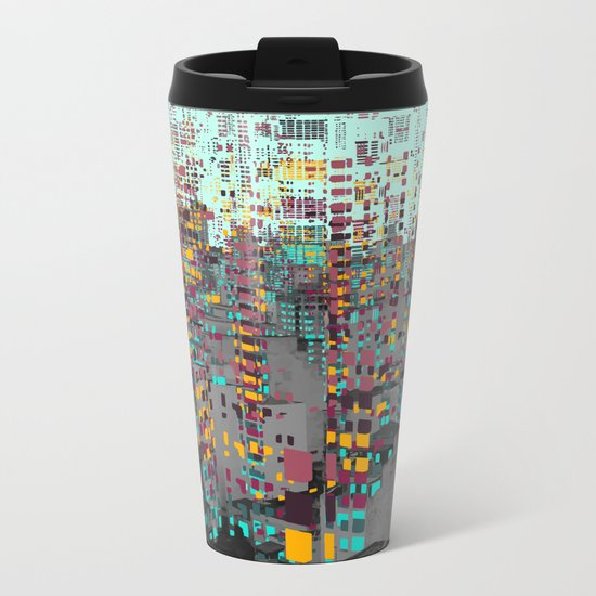 Fragment V Metal Travel Mug