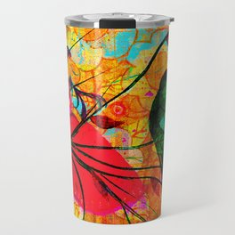 """ O free birds, proud, charming, pure, without troubles."" Travel Mug"
