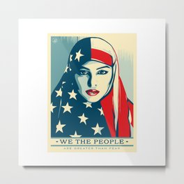 WE THE PEOPLE Metal Print