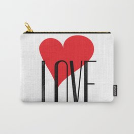 My Love My Valentine Carry-All Pouch