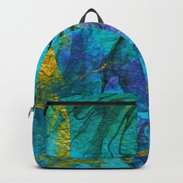 Multicolored marble ii Backpack