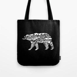 Bear Necessities in Black Tote Bag