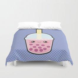 Bubble Tea Duvet Cover