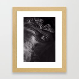 Show up in Lace. Framed Art Print
