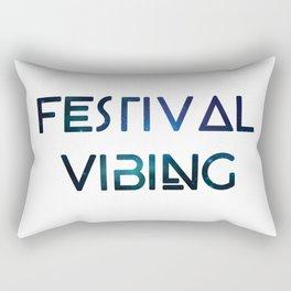 Festival Vibing Rectangular Pillow
