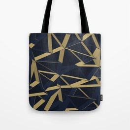 3D Futuristic GEO Lines XIV Tote Bag