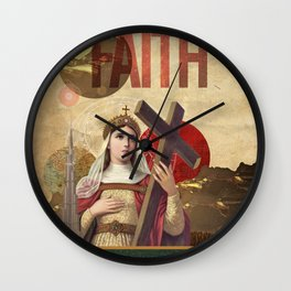 Collection Saints - Rise Of Mary Wall Clock