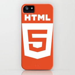 HTML (HTML5) iPhone Case