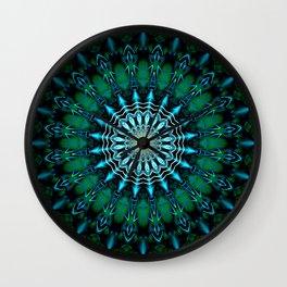 Mandala Humanity Wall Clock