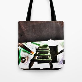 ladder going up or down Tote Bag