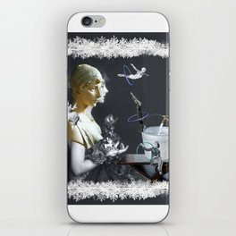 Hoop Diving in the Frost iPhone Skin