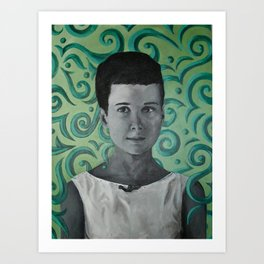 Patti Ann Art Print