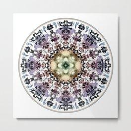Magic Tribal Mandala Metal Print
