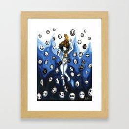 Sin Cara  Framed Art Print