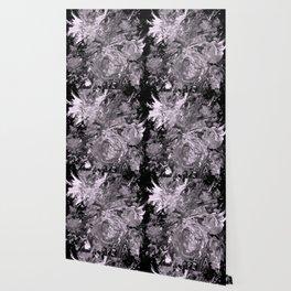 Blooms, monochrome Wallpaper