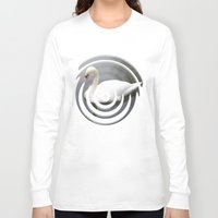 swan queen Long Sleeve T-shirts featuring Swan by IvanaW