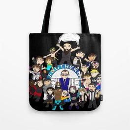 Southern Premier Wrestling Happy Birthday Tote Bag